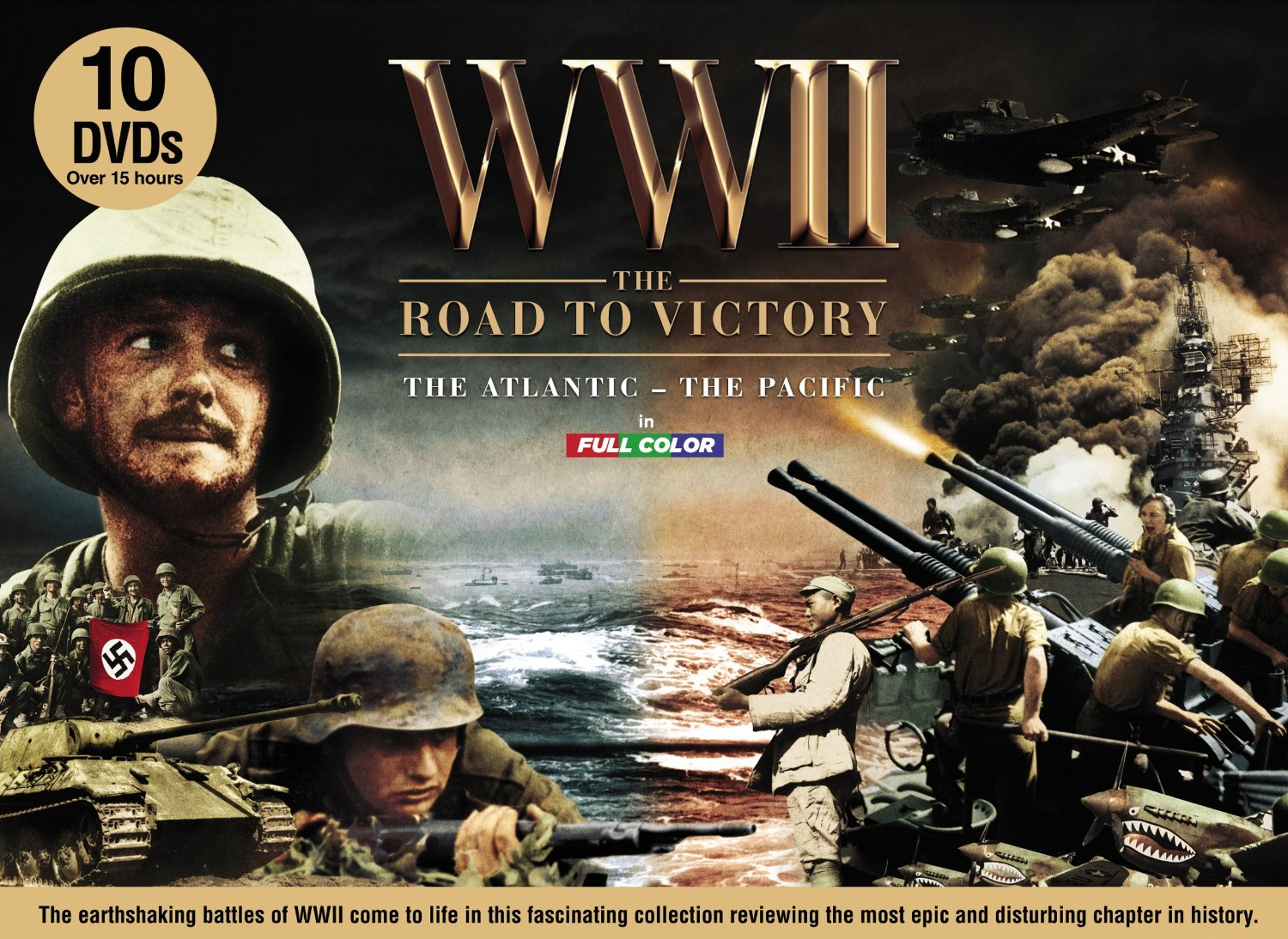 Dvd World War Road to Victory